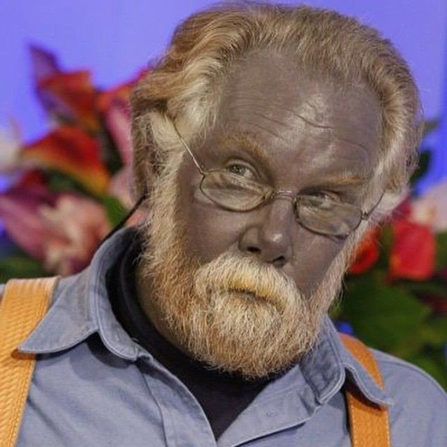 Colloidal Silver Blue Man